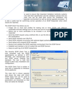 OCSP Client Tool Datasheet