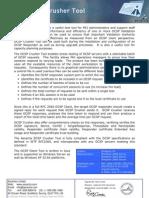 OCSP Crusher Tool Datasheet