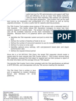 TSA Crusher Tool Datasheet