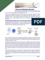 ADSS Server Exploring Verification Services