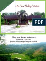 Sun Valley Estates, Antipolo City, Philippines (PDF)