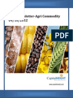 Daily AgriCommodity Report By CapitalHeight