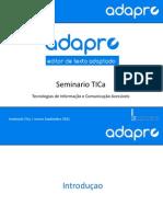 20120920 PResentacion Adapro Seminario Azores