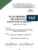 Plan Propriu Ssm Sanitare Si Hvac Coseda