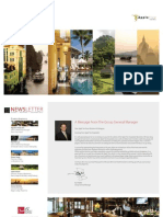The Apple Tree Hospitality Group's Newsletter, the 4th quarter 2012