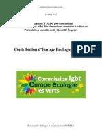 Contribution EELV - PAG LGBTphobies