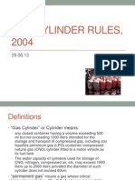 Gas Cylinder Rules, 2004