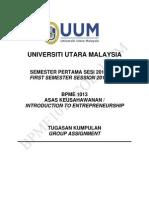 Assignment Sem 1 20122013