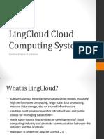 LingCloud Cloud Computing System