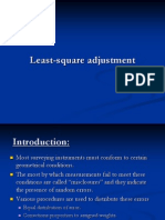 Least Square Adjustment
