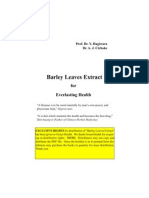 Barley Leaves Extract Booklet