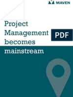 Project Management Becomes Mainstream