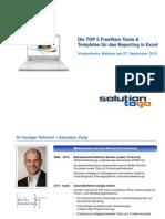 Solutiontogo Webinar TOP5FreeWare ToolsTemplates 27September2012 Dokumentation
