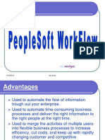 PeopleSoft WorkFlow