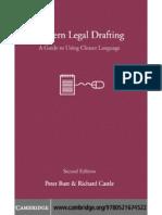Legal Drafting Rules