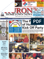 Huron Hometown News - October 4, 2012