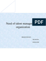 Need of Talent Management in Organization