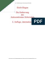 Glagau, Erich - Die Entlarvung Des Antisemitismus-Schwindels (1999, 13 S.)