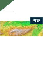 Mapa Toponimic Font Roja