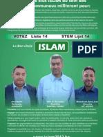 Belgique Islam2012 Parti Politique