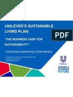 Marketing Sustainability - Unilever