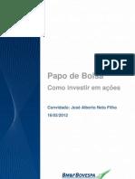 Como Investir Em Acoes Alberto Neto Filho 16032012