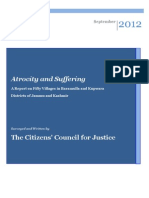 Atrocity and Suffering - CCJ Report