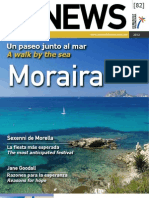 CVNEWS 82 - Un paseo junto al mar - A walk by the sea -  Moraira