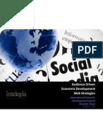 Audience Driven Economic Development Web Strategies