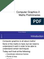 Graphics2-MathsPrelim