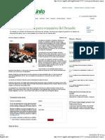 03-10-12 ACTA, Prioridad en comisión del Senado