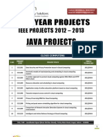 Java Ieee 2012 2013 Titles