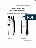 VR-1 Single-Phase Step Voltage Regulator - Manual (GEH5858)