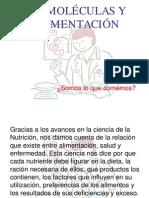 BIOMOLÉCULAS Y ALIMENTACIÓN