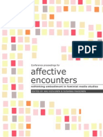Affective Encounters Proceedings