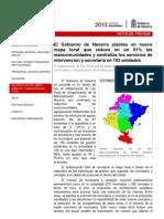 Mapa Local Navarra Reforma