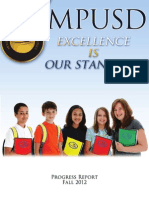 MPUSD Progress Report 2012