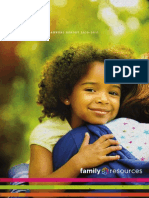 Family Resources Annual Report 2010-2011