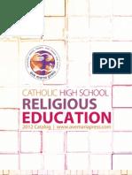 2012 Ave Maria Press High School Catalog