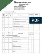 Course Plan EDC