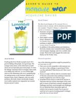 Lemonade War Discussion Guide