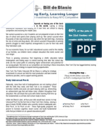 De Blasio Ed Investment Fact Sheet