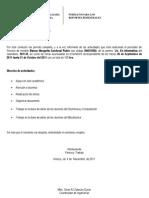 Formato de Reporte Bimestral