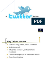 A Twitter Primer