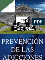 PREVENCIÓN DE LAS ADICCIONES