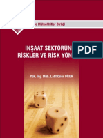 İnşaat Sektöründe Risk yonetimi
