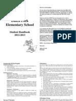 2012-2013 Student Handbook