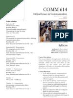 Ethics Syllabus