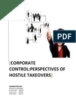 Corporate Control Final