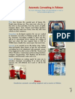 Proposal Automatic Carwashing in Pakistan